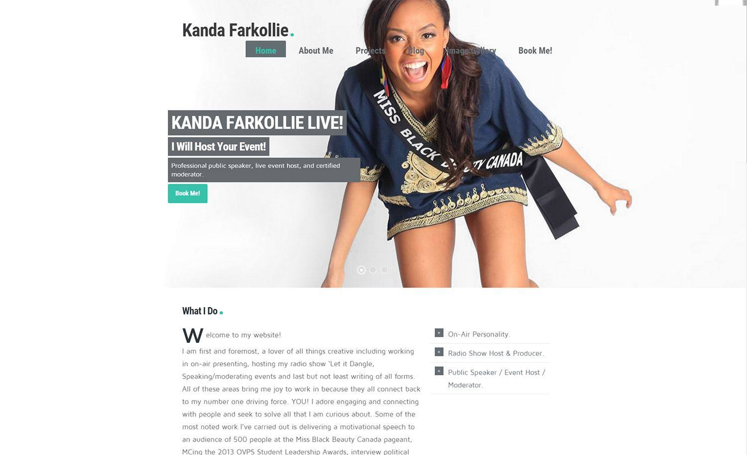 Website Design - Kanda Project