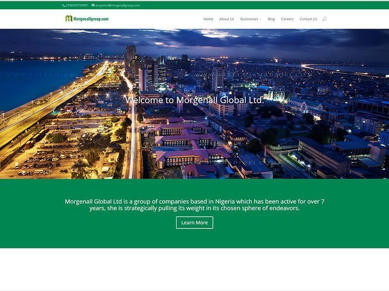 Website Design - Morgenall Group Project