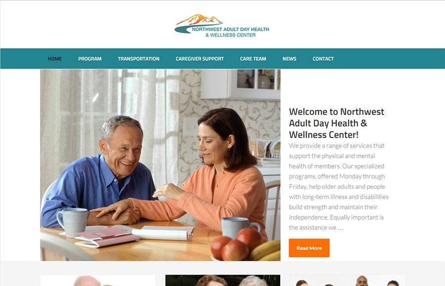 Website Design - North West Wellness Project