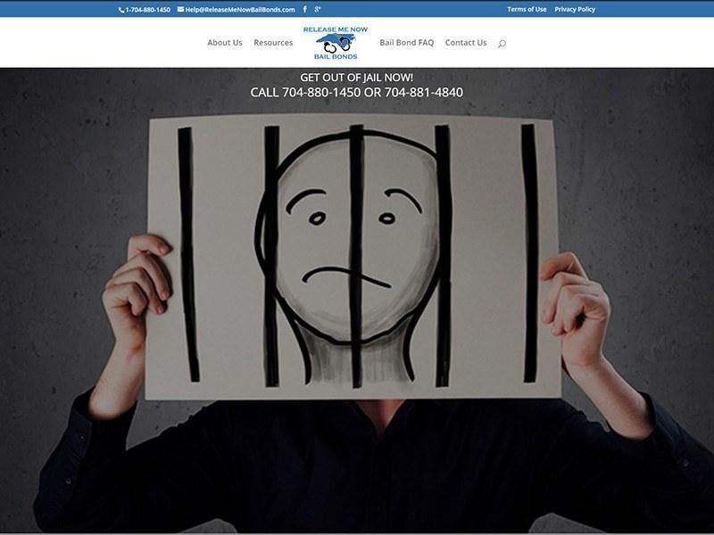 Website Design North Carolina Bail Bonds